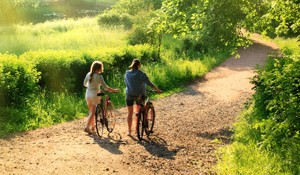 the camel trail cycle path is just 10 minutes away